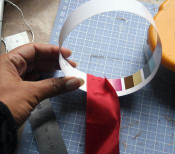 Start wrap ribbon