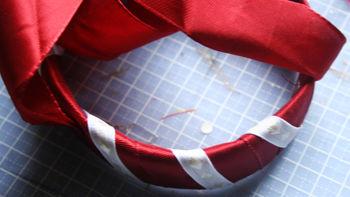 Wrap 2nd ribbon
