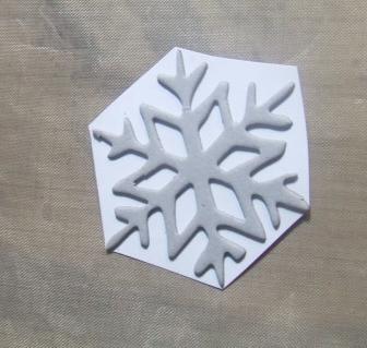 Stick snowflake