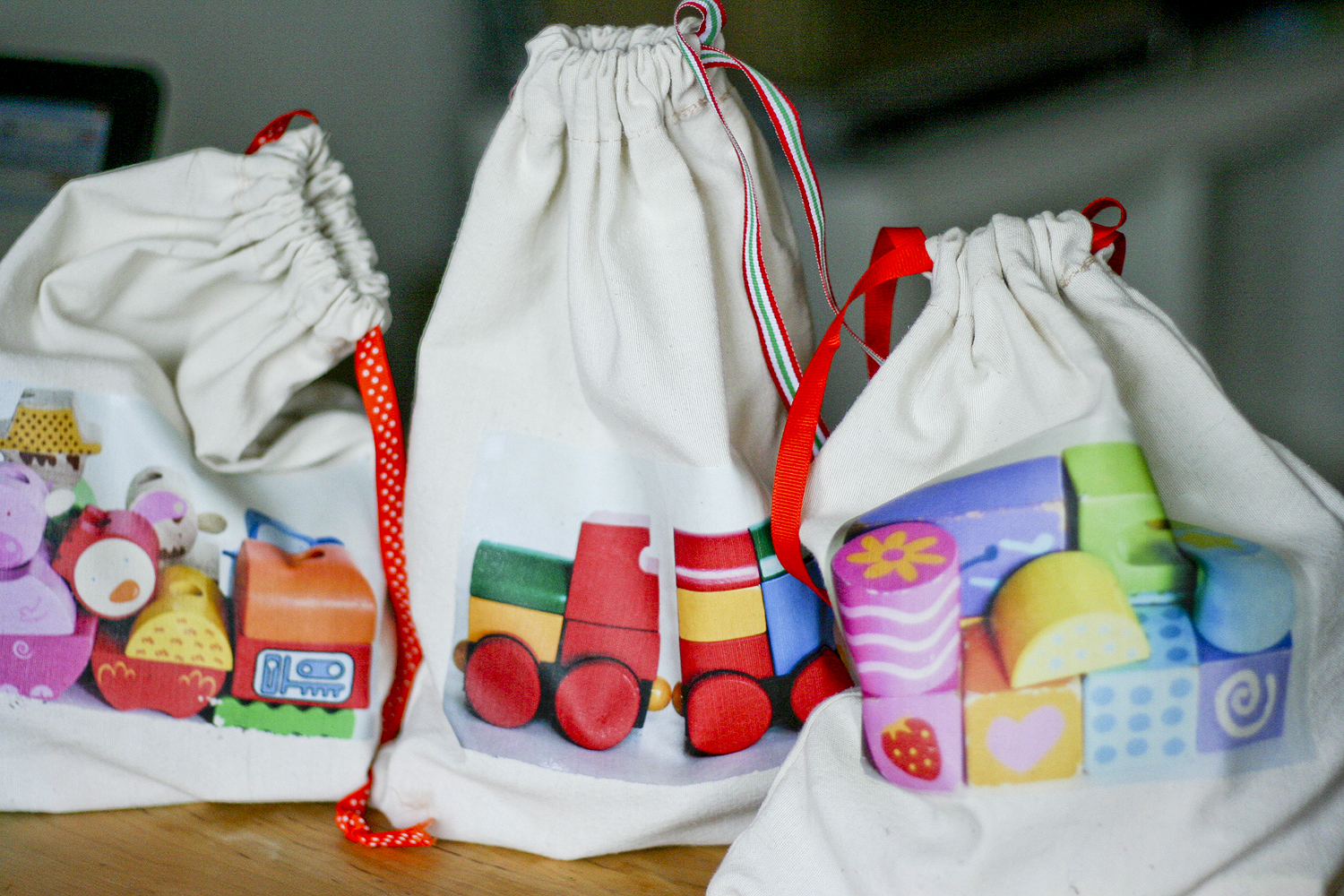 Organise: Drawstring Toy Bags - Callaloo Soup