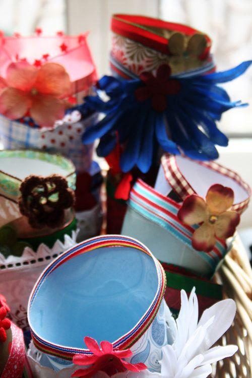 Decorated cones