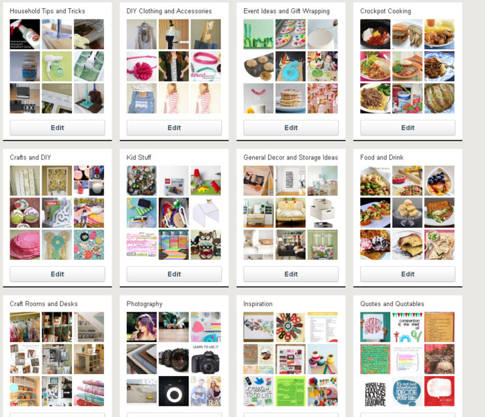 Francine Clouden Pinterest Boards