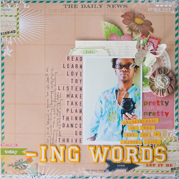 Francine CLouden -Ing Words