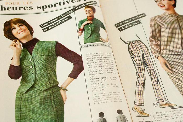 Modes Travaux Vintage Magazine 5