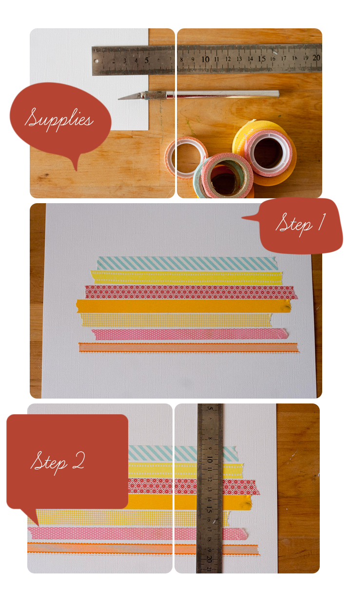 Washi Tape Tutorial - Callaloo Soup Blog