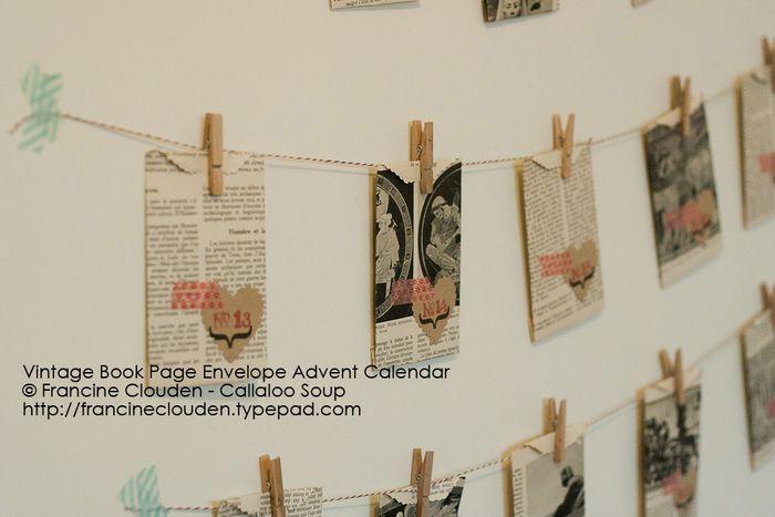 Envelope Advent Calendar - Callaloo Soup