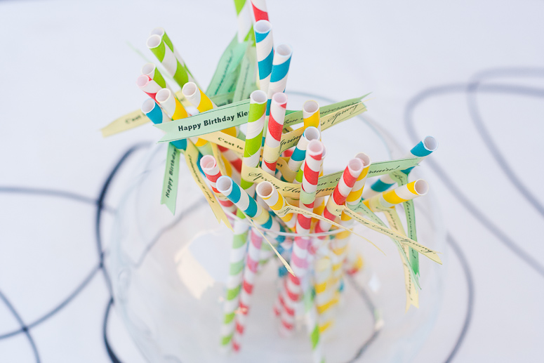 Spring Birthday Straws at Callaloo Soup_