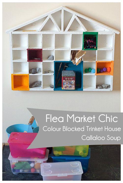 Flea Market Chic - Kieran's House at Callaloo Soup - on wall labeled