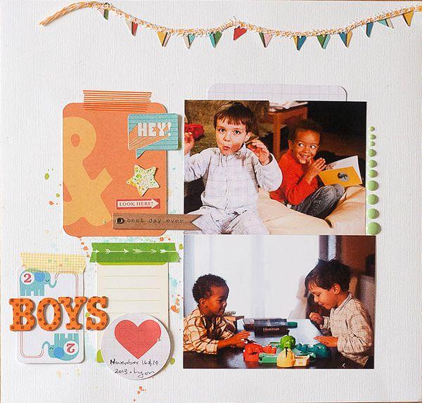 Inspired Fridays - 2 Boys - Callaloo Soup
