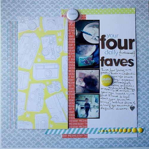 Francine Clouden - Four Faves