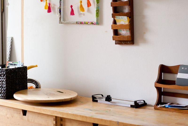 Clean work surface- Callaloo Soup Blog