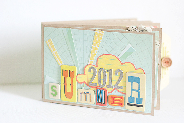 Summer 2012 Mini Album by Francine Clouden-1