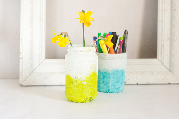 Textured Ombre Pen Cup and Vase by Francine Clouden-16
