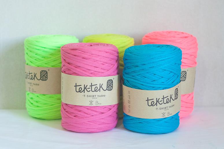 Crocheting with Tek Tek T-shirt Yarn-1