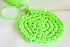 Neon Crochet Hot Pads from T-Shirt Yarn-2