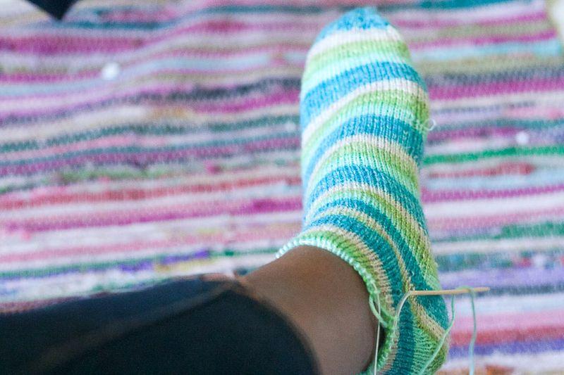 Knitting Update - Socks at Callaloo Soup-6