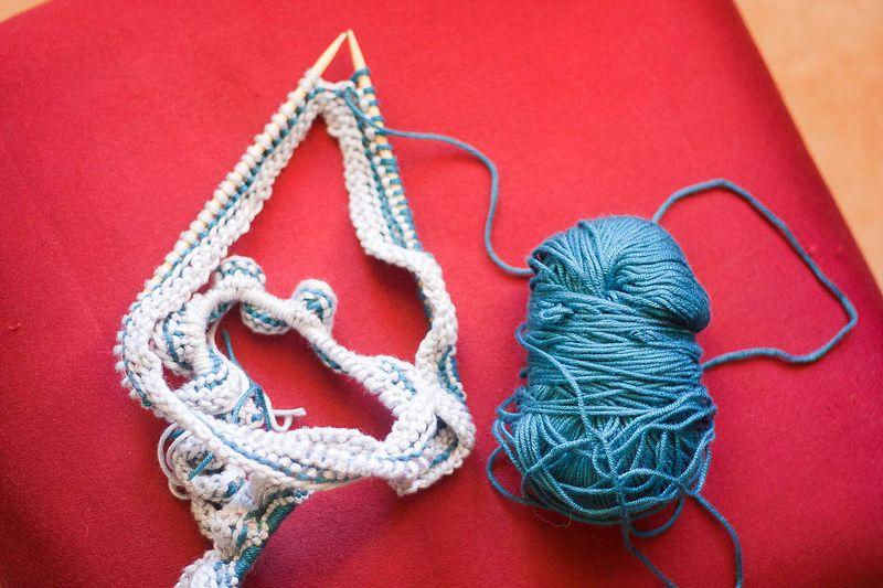 My Knitting Adventure at Callaloo Soup-9