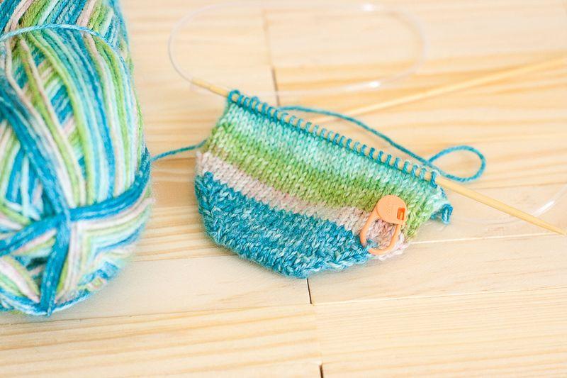 Knitting Update - Socks at Callaloo Soup-2