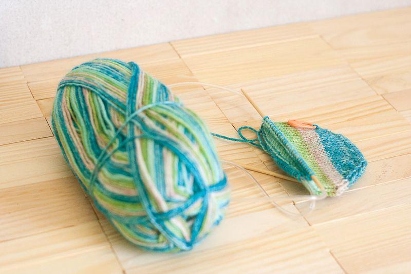Knitting Update - Socks at Callaloo Soup-1
