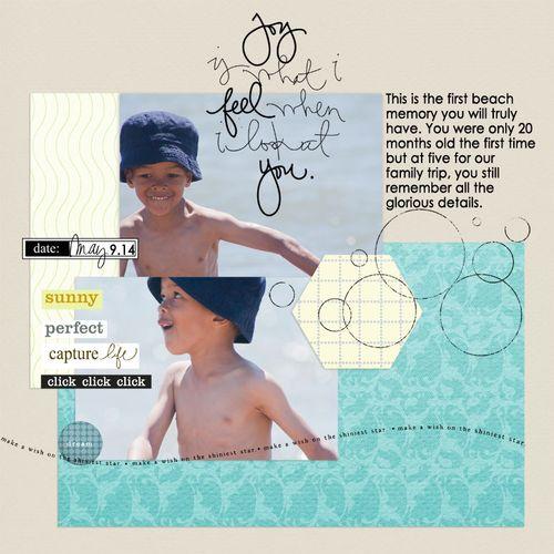 Sister Sketch July 2014 - Pure Joy by Francine Clouden
