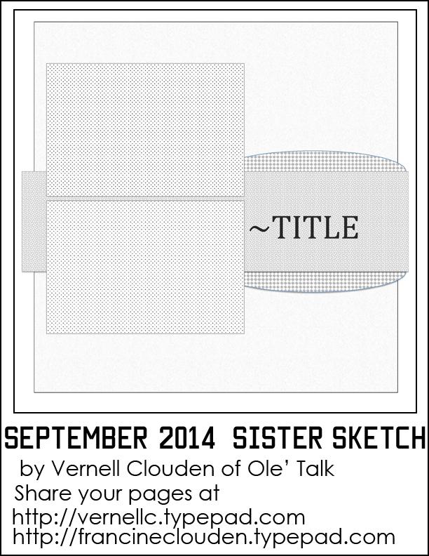 Sister Sketch September 2014