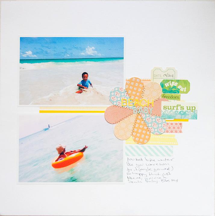 Beach baby - September Sister Sketch - Callaloo Soup