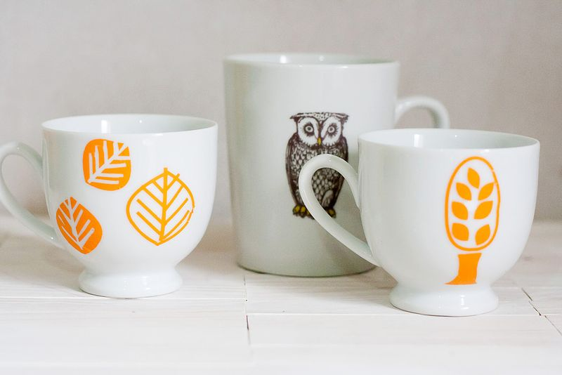 Easy Customizable Halloween Coffee Mugs by Callaloo Soup-5
