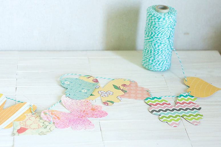 Hearts and Flowers Garland using Makin it Cute Templates by Callaloo Soup-7