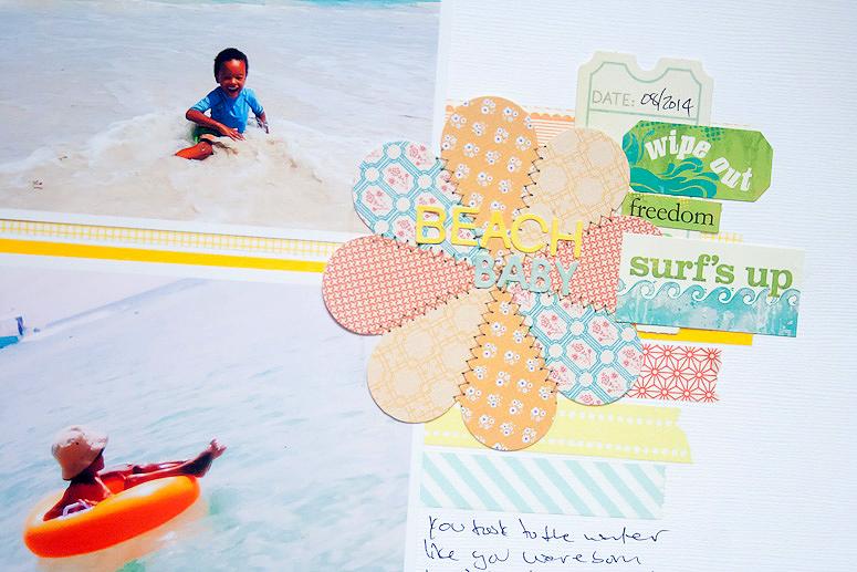 Beach baby - September Sister Sketch - Callaloo Soup-2