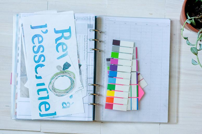 Filifax Friday - Journaling and the Clip Book - Callaloo Soup -6