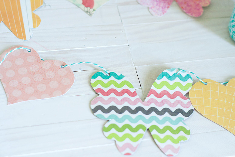 Hearts and Flowers Garland using Makin it Cute Templates by Callaloo Soup-6