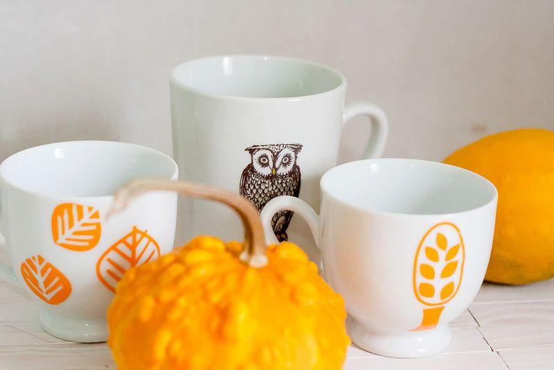 Easy Customizable Halloween Coffee Mugs by Callaloo Soup-4
