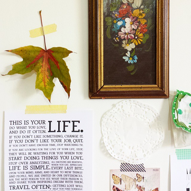 My_random_artinspiration_wall._What_do_you_have_above_your_work_table