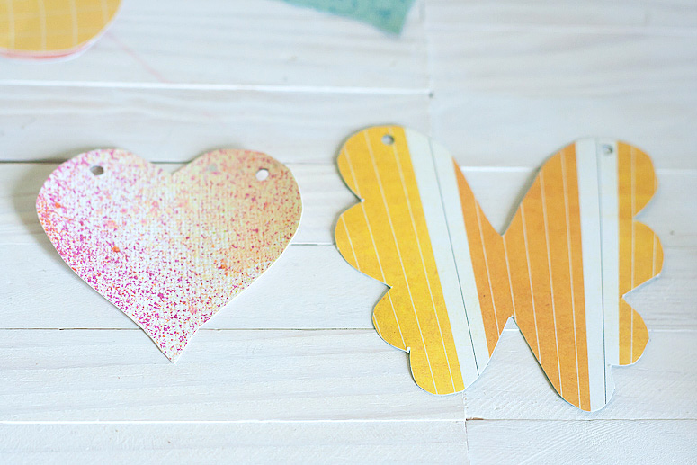 Hearts and Flowers Garland using Makin it Cute Templates by Callaloo Soup-4