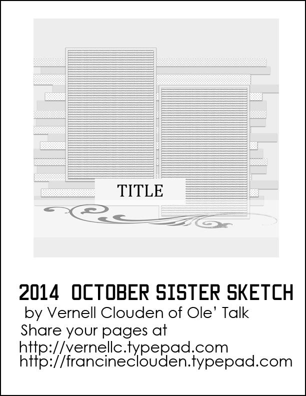 2014 October Sister Sketch